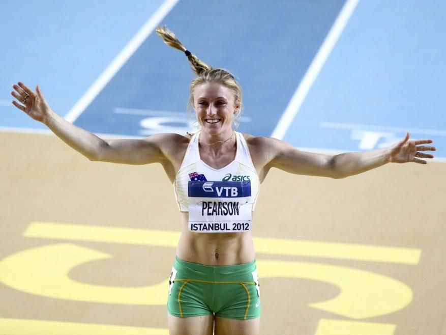 Sally Pearson, austalian track and field athlete.
