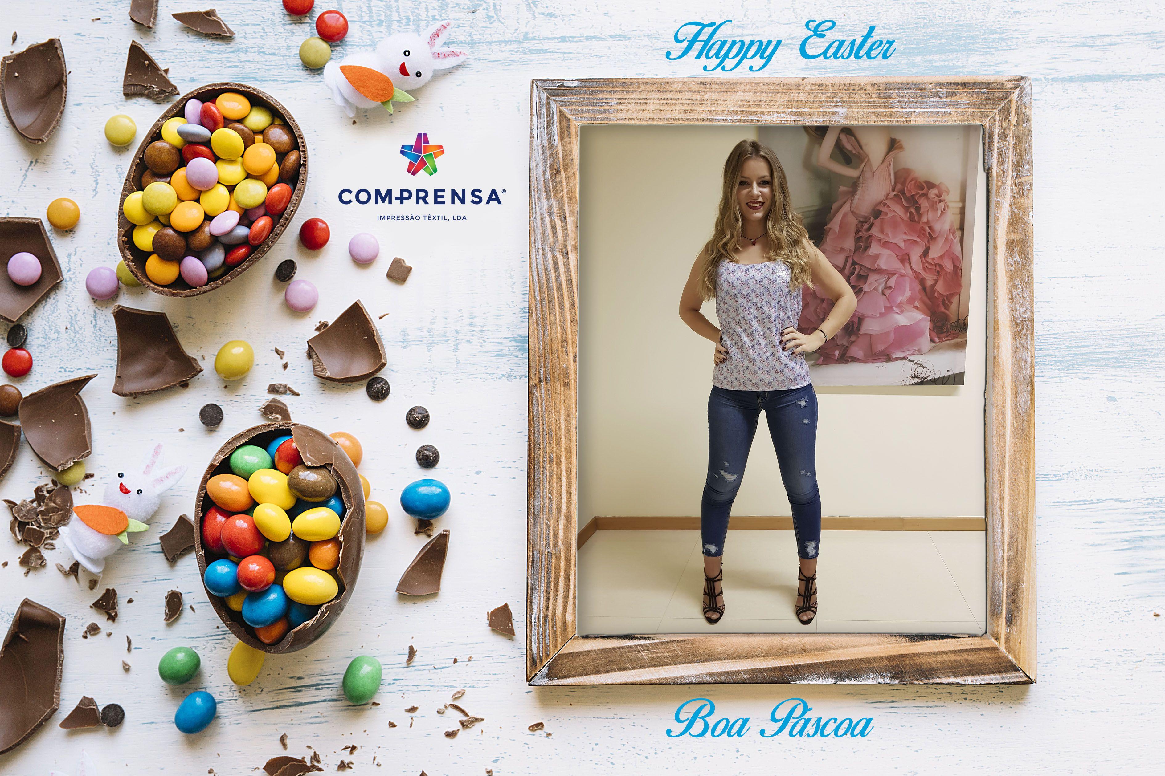 Happy Easter  Boa Páscoa  #comprensa #model #fashion #manufacturer #design #company #textile #portugal #jersey #fleece #cotton #bio #sublimation #screenprinting #digitalprint #laser #photoprint