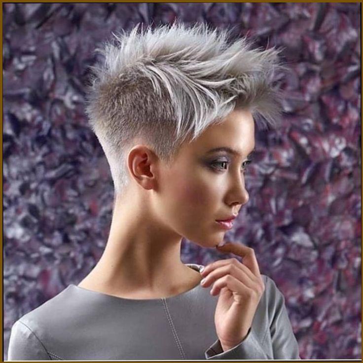 24 Kurzhaarfrisuren Damen 2019 Haar Frisuren Frisur