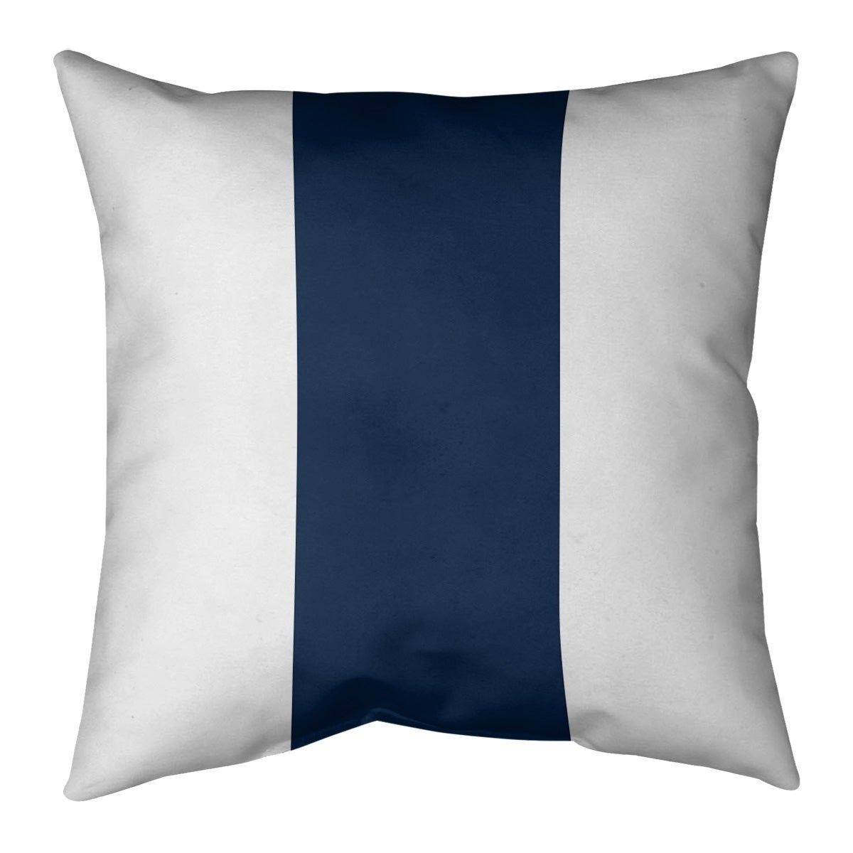Cleveland Football Stripes Pillow Faux