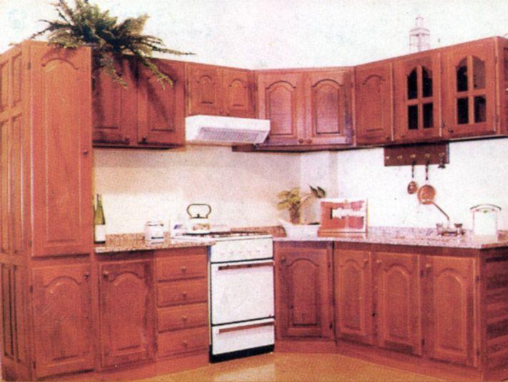 Muebles aereos de cocina en madera 20170722215303 for Muebles de algarrobo precios