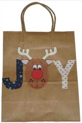 Bulk Jumbo Whimsical Christmas Gift Bags At Dollartree Gifts And Cord