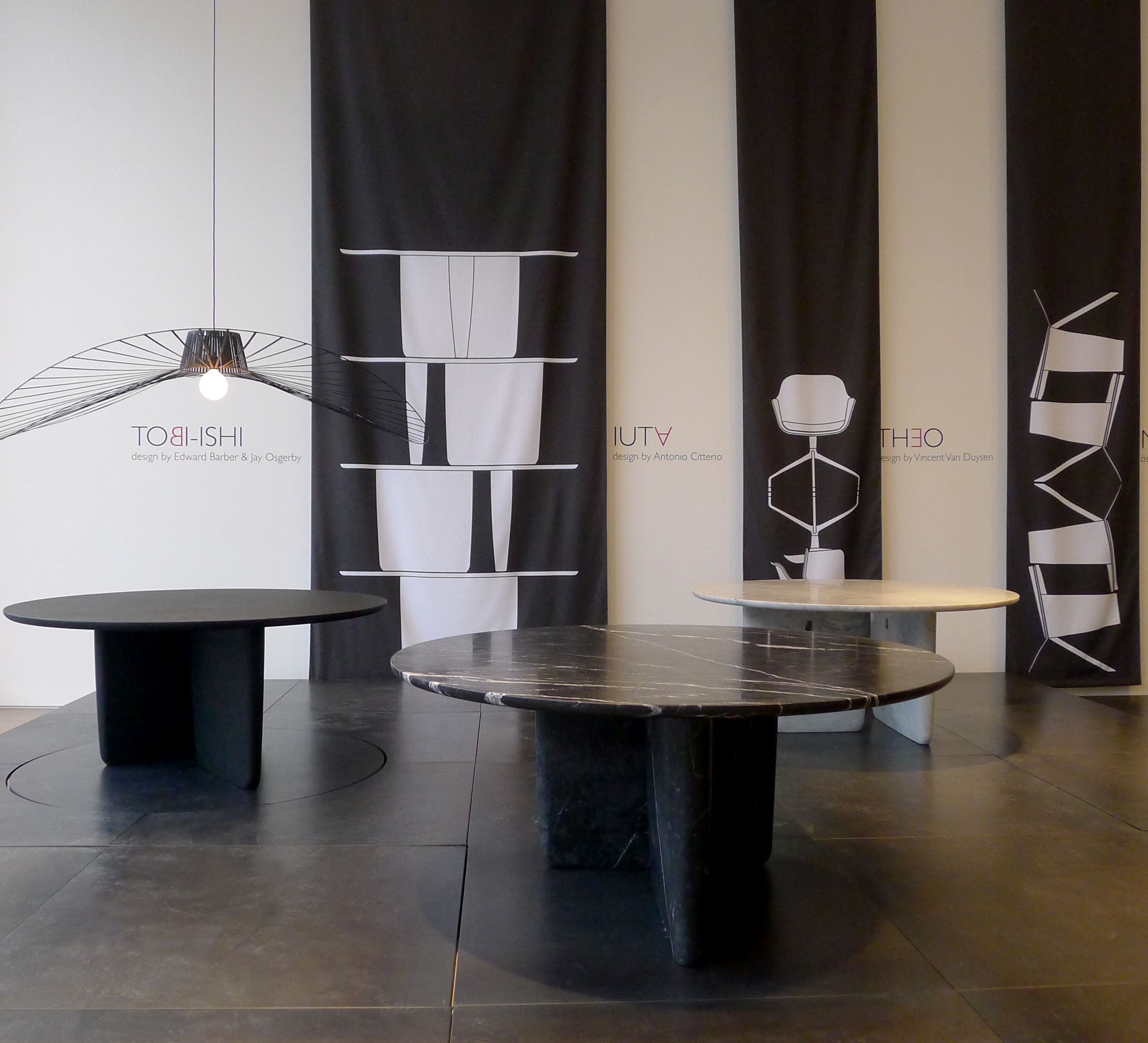 PREVIEW IN LONDON OF THE NEW TOBI ISHI MARBLE TABLES London Design Festival