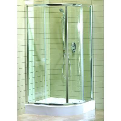 Maax Magnolia Round Acrylic Shower Kit Home Depot Canada Corner Shower Shower Kits Corner Shower Doors