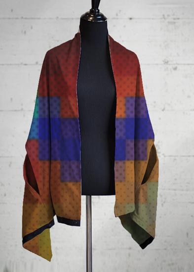 Multi-Wear Wrap - Tartan Swirl by VIDA VIDA W6jcX