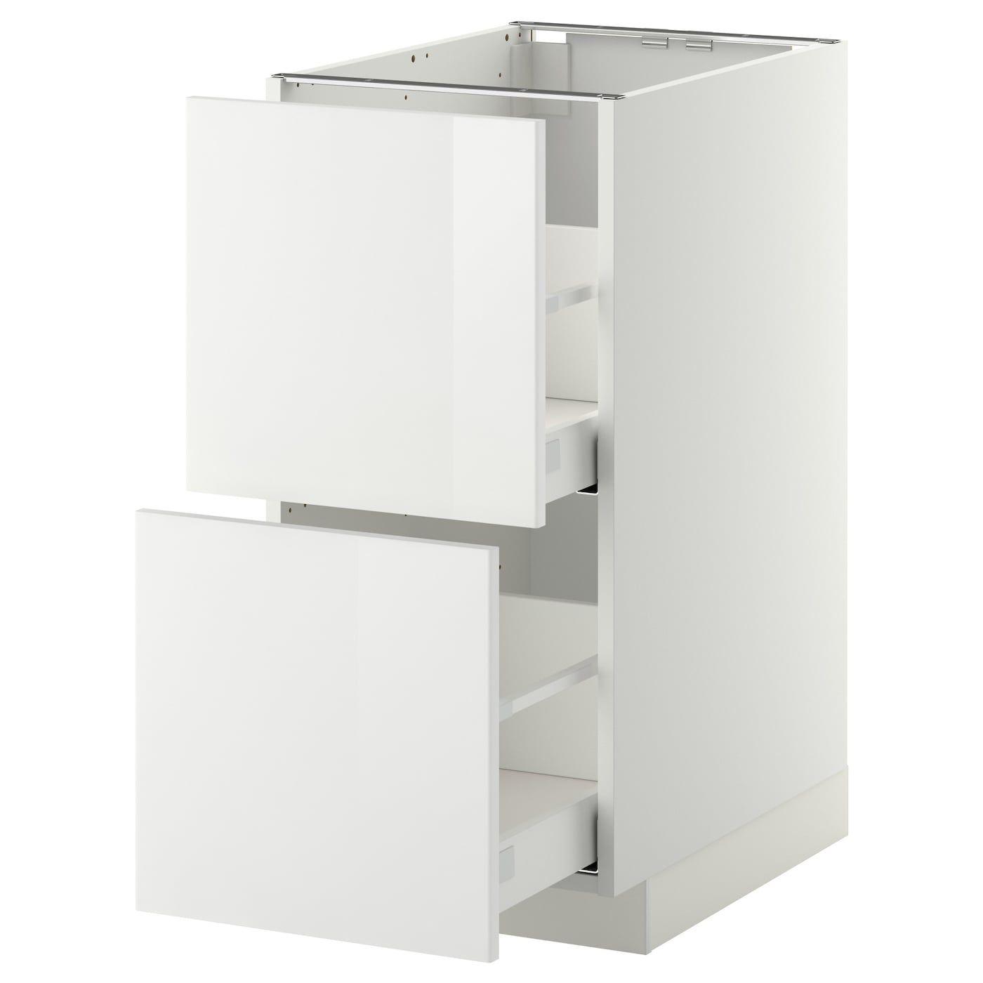 Metod Maximera Onderkast 2 Fronten 2 Hoge Lades In 2020 Ikea