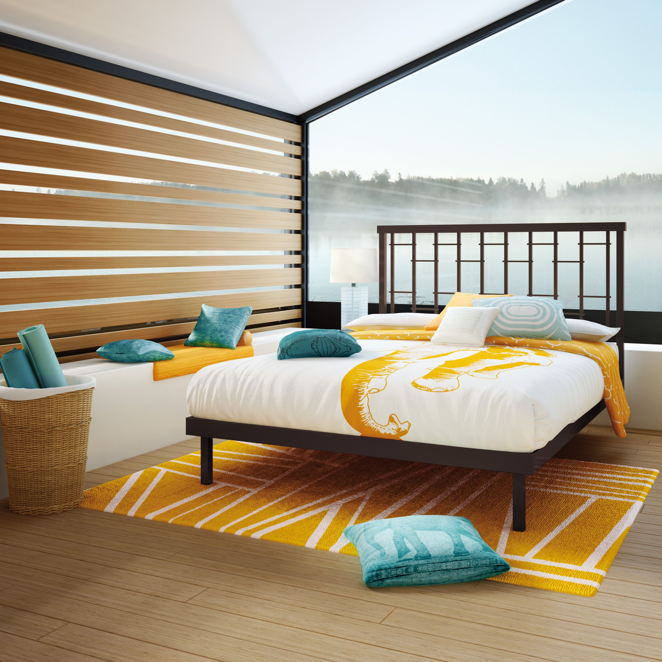 Lovely AMISCO   Mantra Bed (12370)   Furniture   Bedroom   Perfect Balance  Collection