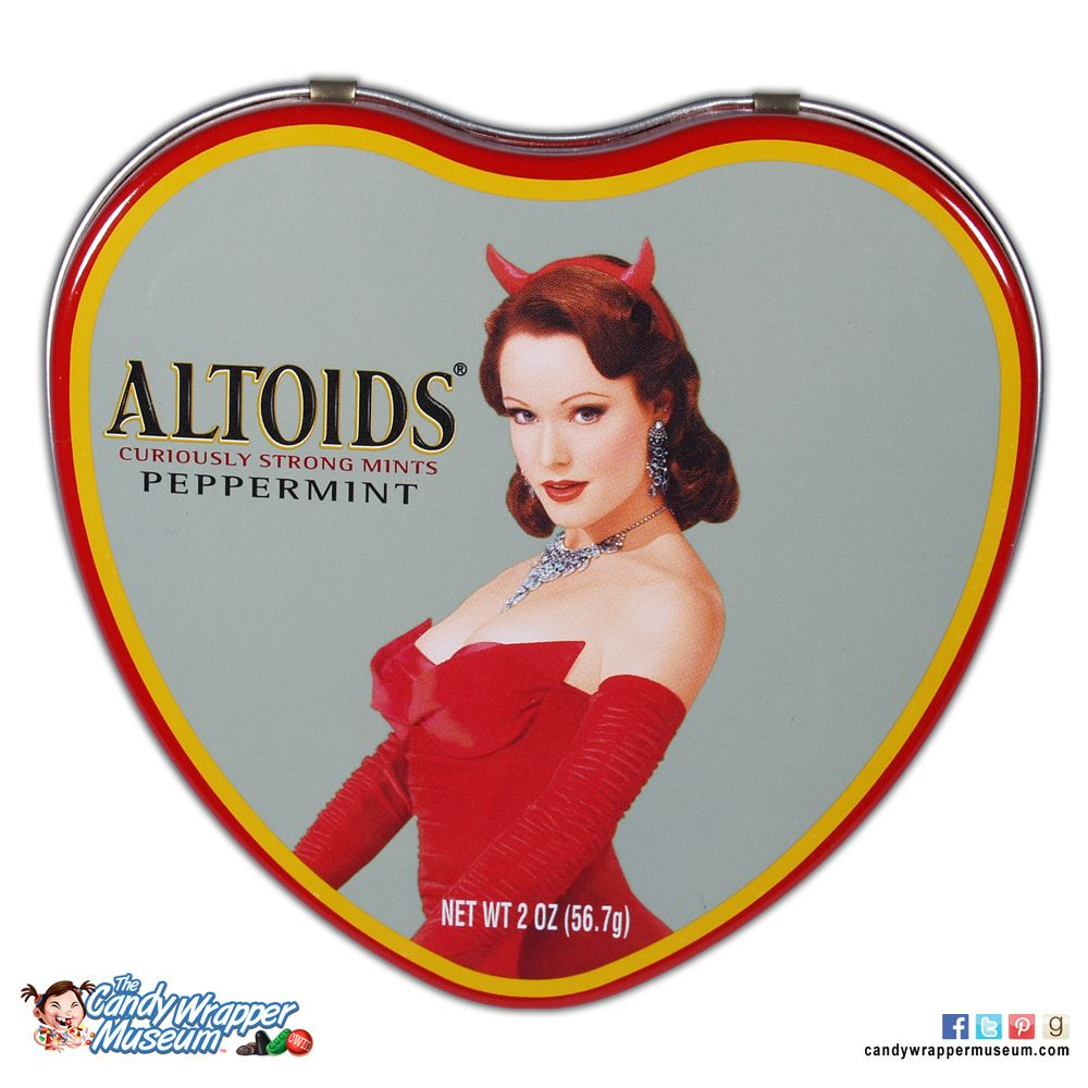 Altoids Valentine tin - for the woman that makes your life a living hell.