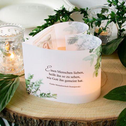Deko Herz Windlicht Greenery Silberhochzeit Deko Windlicht Hochzeit Hochzeit
