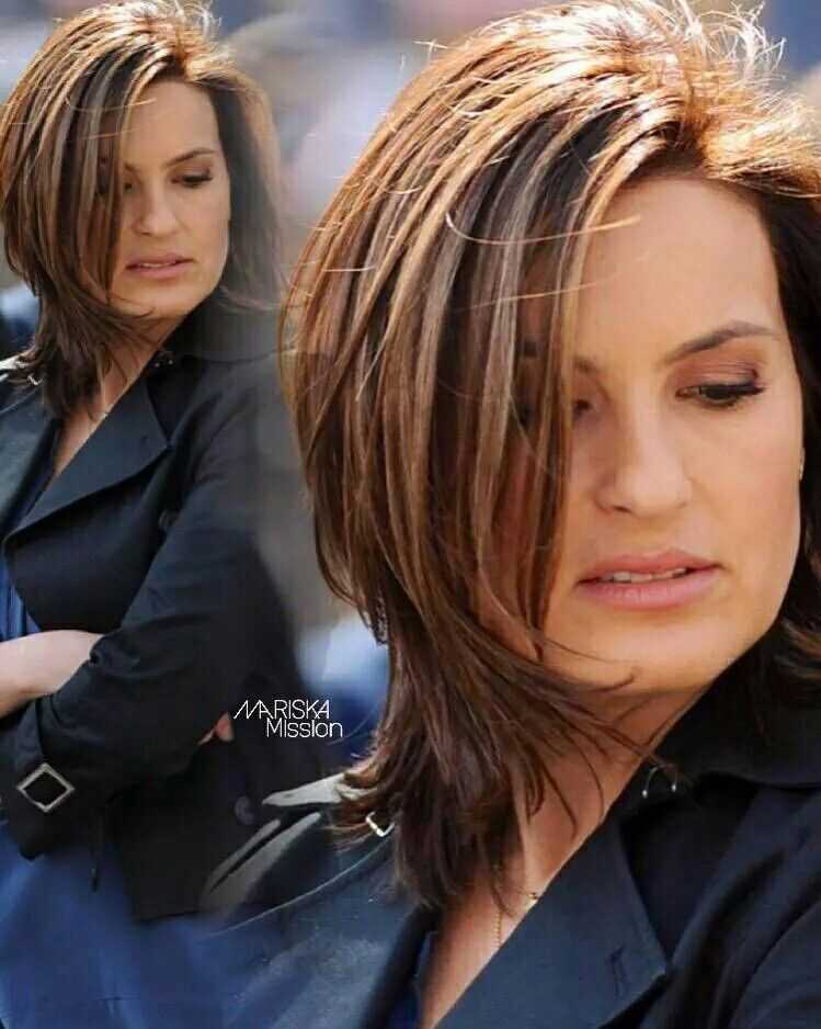 Mariska Hargitay Hair Styles Short Hair Styles Short Hair With Layers