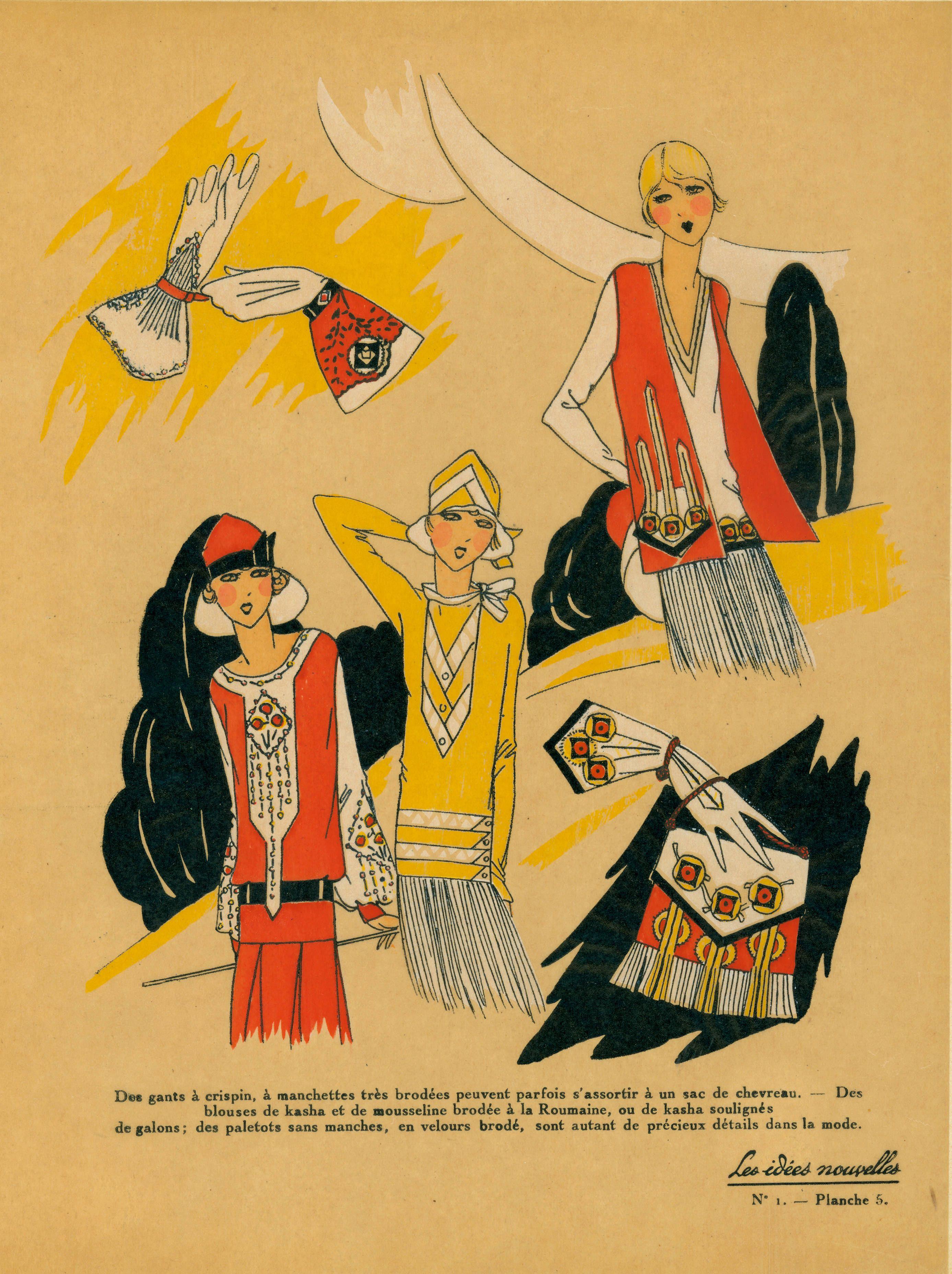 24 -Vintage Fashion Sketches - Free - | Pinterest