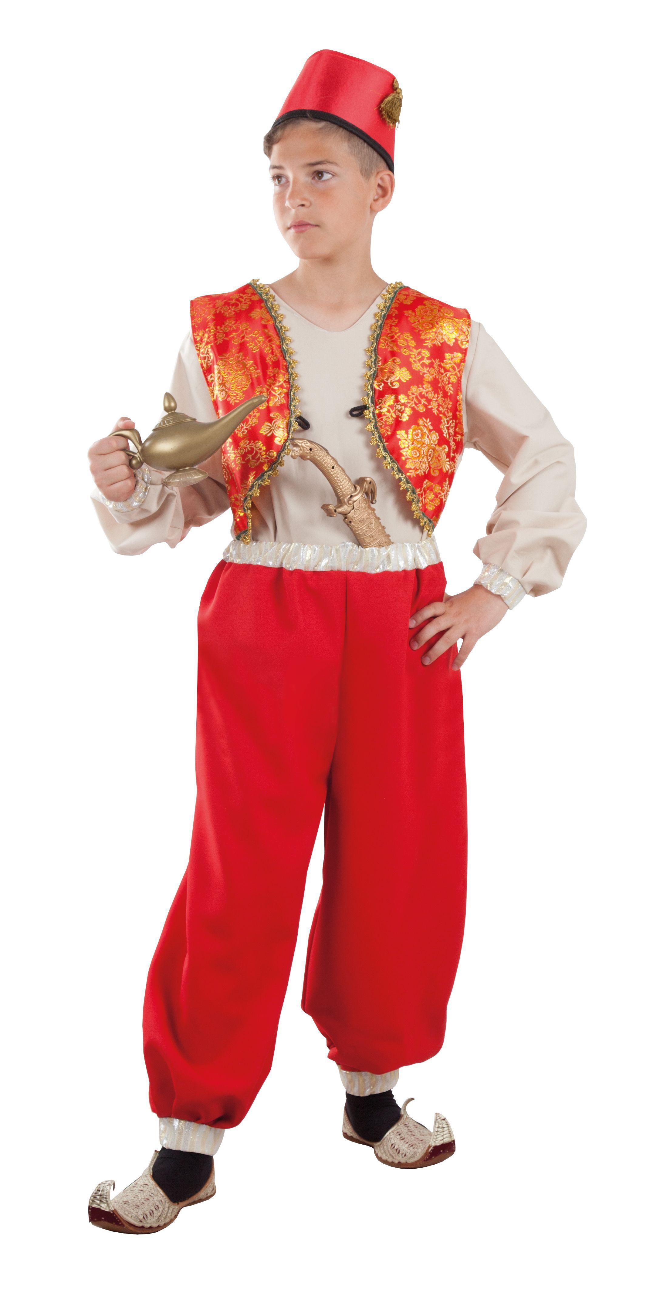 Disfraz de árabe de cuento para niño  671a079f0fb