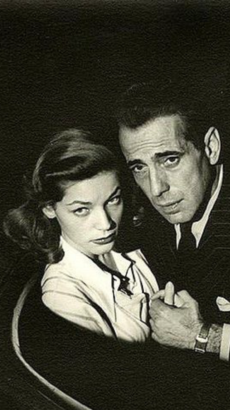 Lauren Bacall And Humphrey Bogart Uploaded By Www 1stand2ndtimearound Etsy Com Bogart And Bacall Lauren Bacall Bogie And Bacall