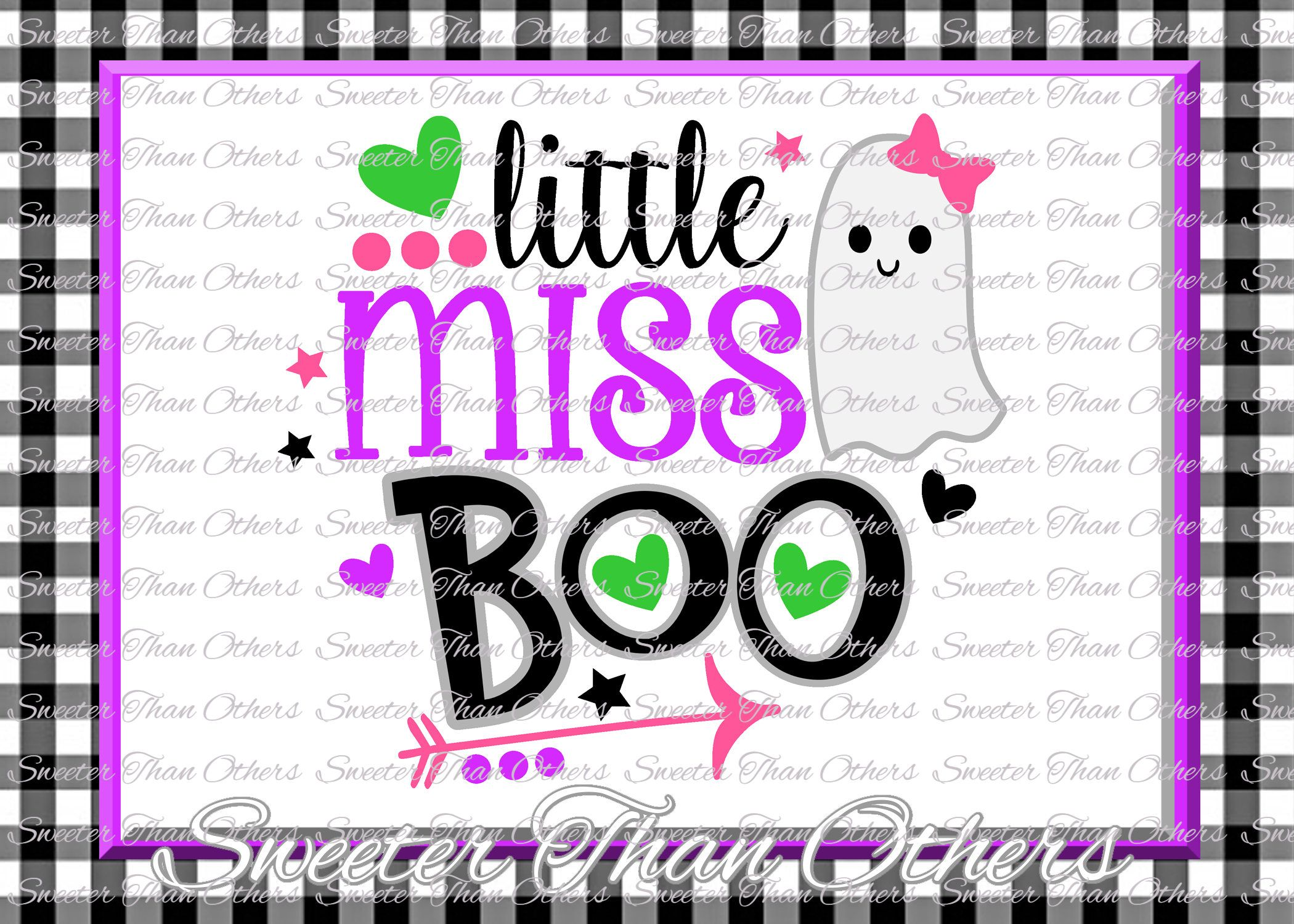 Halloween svg, Little Miss Boo Svg Boo Ghost Design Dxf Silhouette Studios Cameo Cricut cut file INSTANT DOWNLOAD Vinyl Design, Htv Scal Mtc by SweeterThanOthers on Etsy
