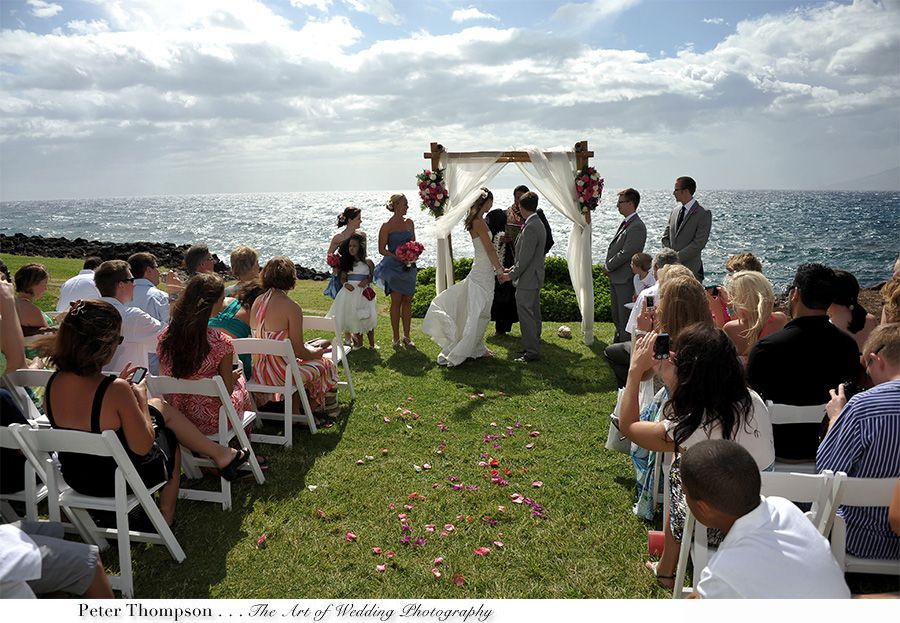 A Dream Wedding Usa Hawaii Maui Wailea Beach Marriott Resort