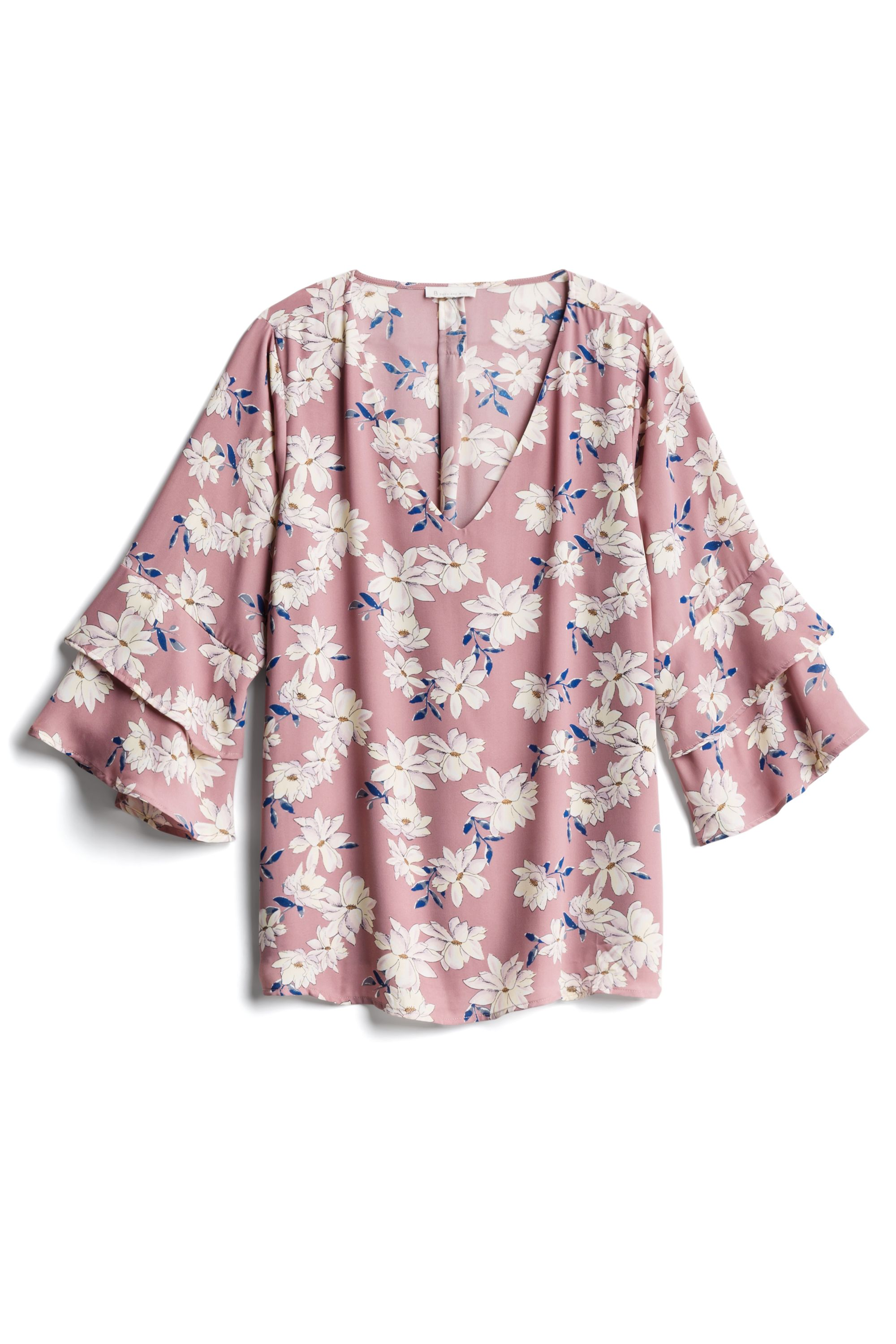 1111450799 SKIES ARE BLUE Brea Bell Sleeve Blouse | September 2018 Stitch Fix ...