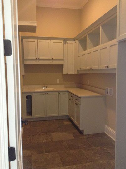 New Construction Laundry Room In Orlando Fl Designed By T