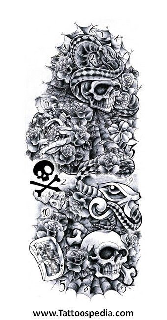 Hood Tattoo Drawings Gallery Best Sleeve Tattoos Full Sleeve