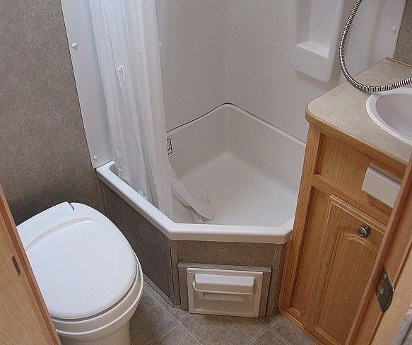 Image Result For Custom Built Caravan Bathroom Caravan Interior