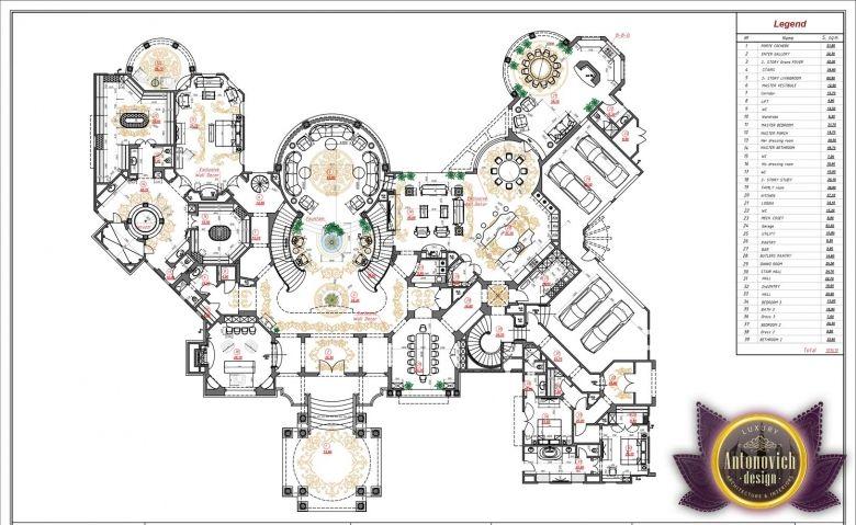 Luxury House Plan Villa 35 By Antonovich Designs Luxury Villa Design Luxury Floor Plans Luxury House Plans