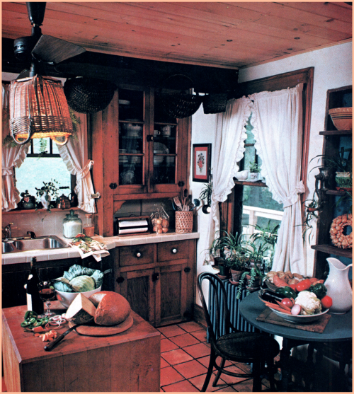 1970s Rustic Kitchen