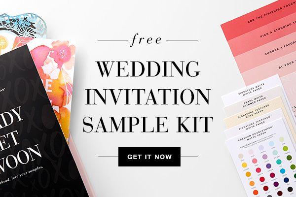Wedding invitation wording examples 2018 pinterest bridal free sample kit stopboris Image collections