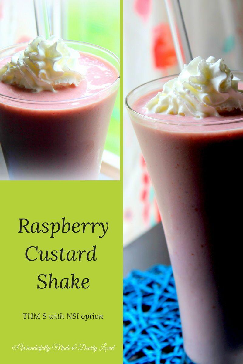 Raspberry Custard Shake Recipe Trim Healthy Recipes