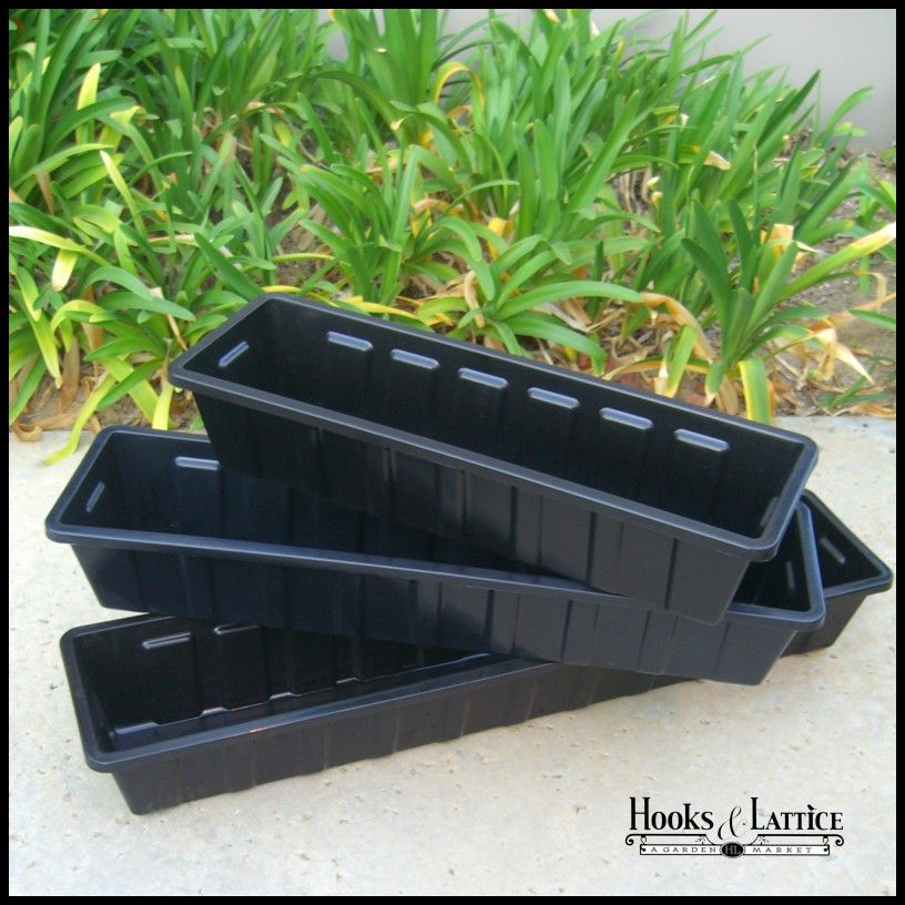 Window Box Liners Flower Box Liners Plastic Metal More