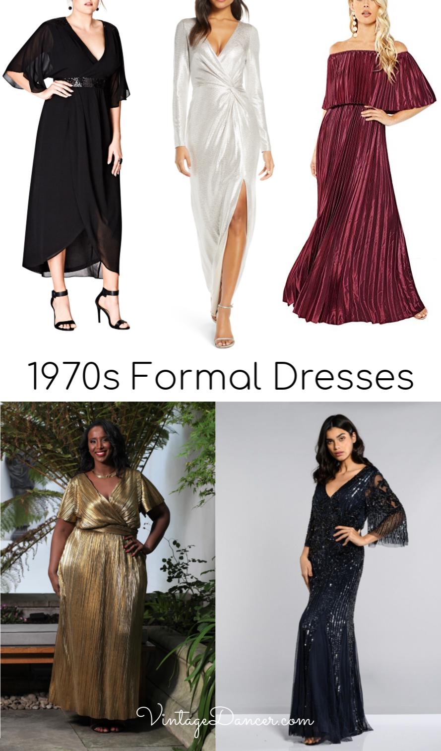 1970s Prom Dresses Formal Dresses Evening Dresses And Gowns 1970s Fashion Women Dresses Prom Dresses Vintage 70s Prom Dress Vintage [ 1513 x 889 Pixel ]