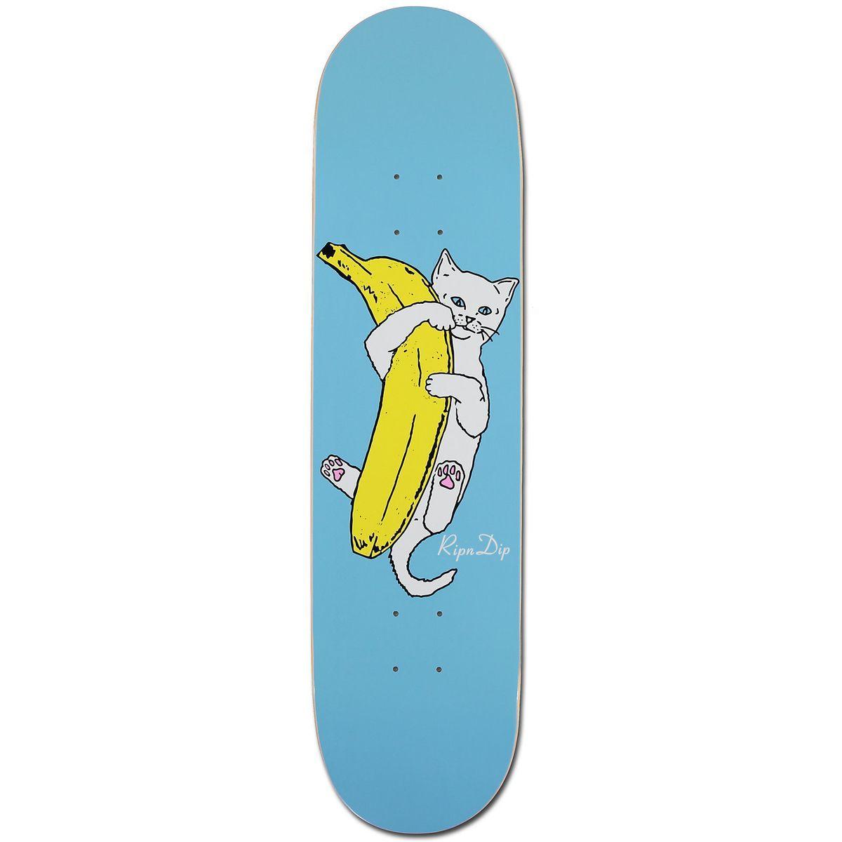 Rip N Dip Banana Skateboard Deck 8 25 Inch Skateboard Deck Art