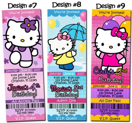 hello kitty birthday sleepover invitations google search
