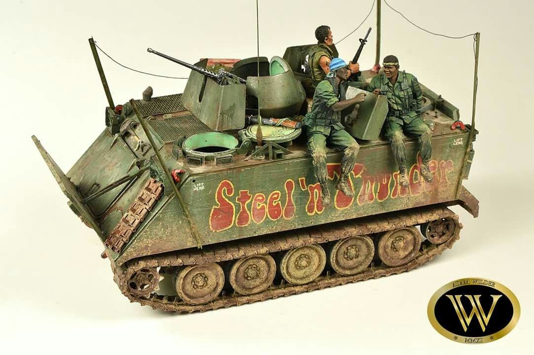 1/35 M113 APC Vietnam War by Adam Wilder | Model Kit