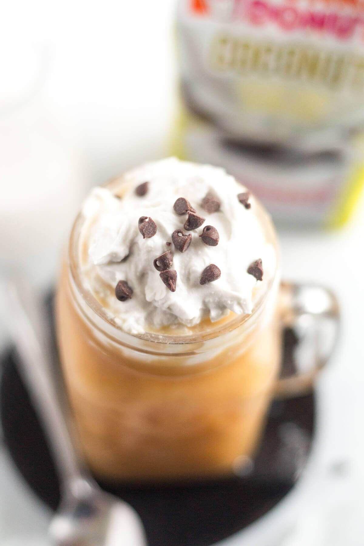 Mocha Coconut Iced Coffee Recipe Coffee recipes, Mocha