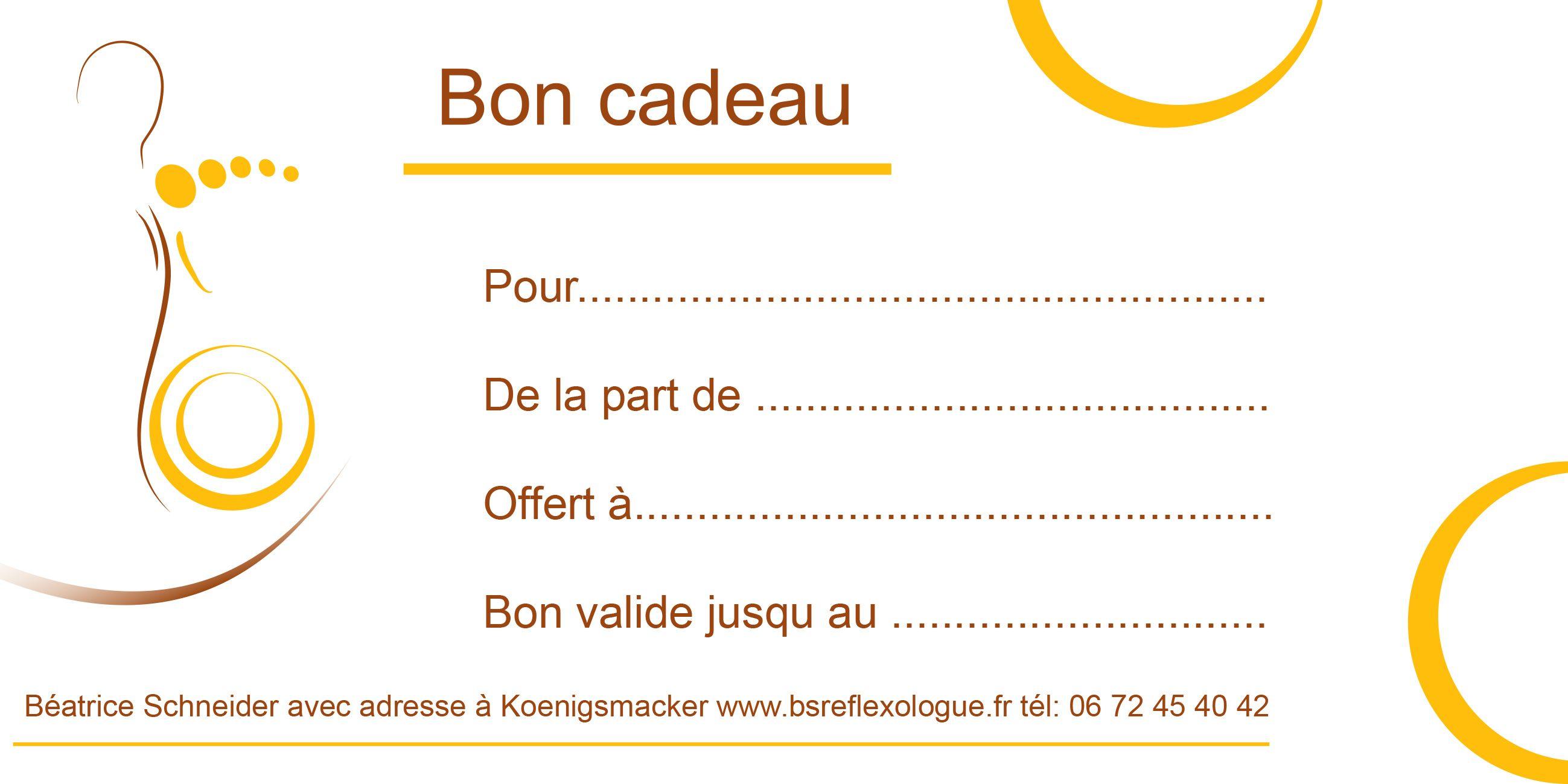 carte cadeau à imprimer Bon Pour Un Cadeau à Imprimer Gratuit PV86 | Jornalagora (avec