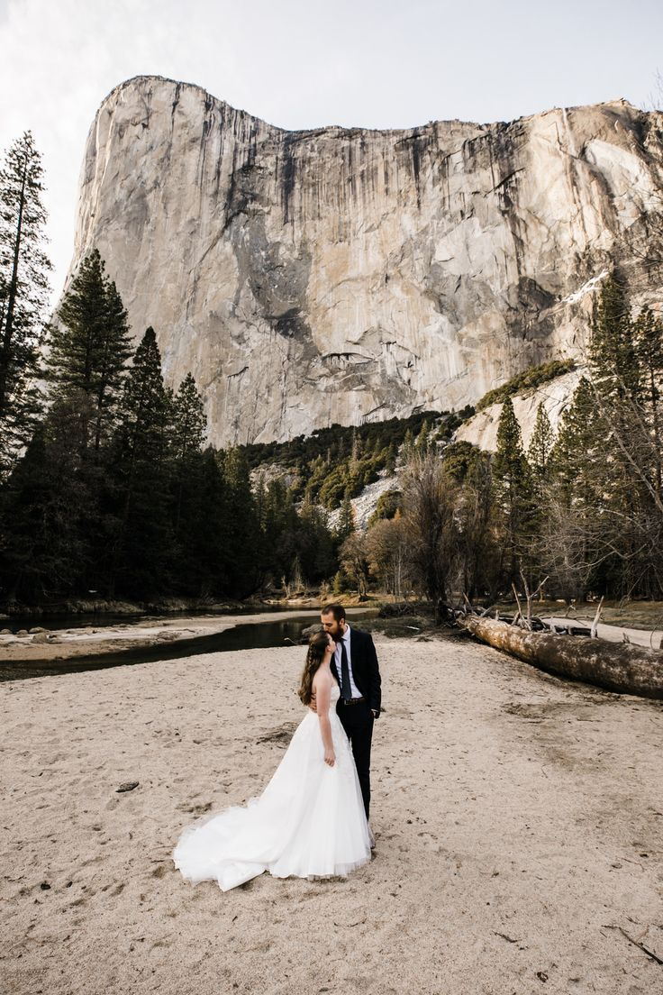 Photo of winter elopement in yosemite national park | yosemite wedding photographer — Adventure Wedding + Elopement Photographers in Moab, Yosemite, and beyond | The Hearnes