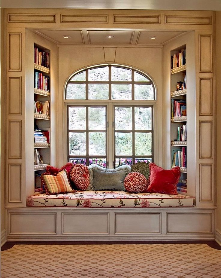 window seat book nook love - Beautiful Window Seats