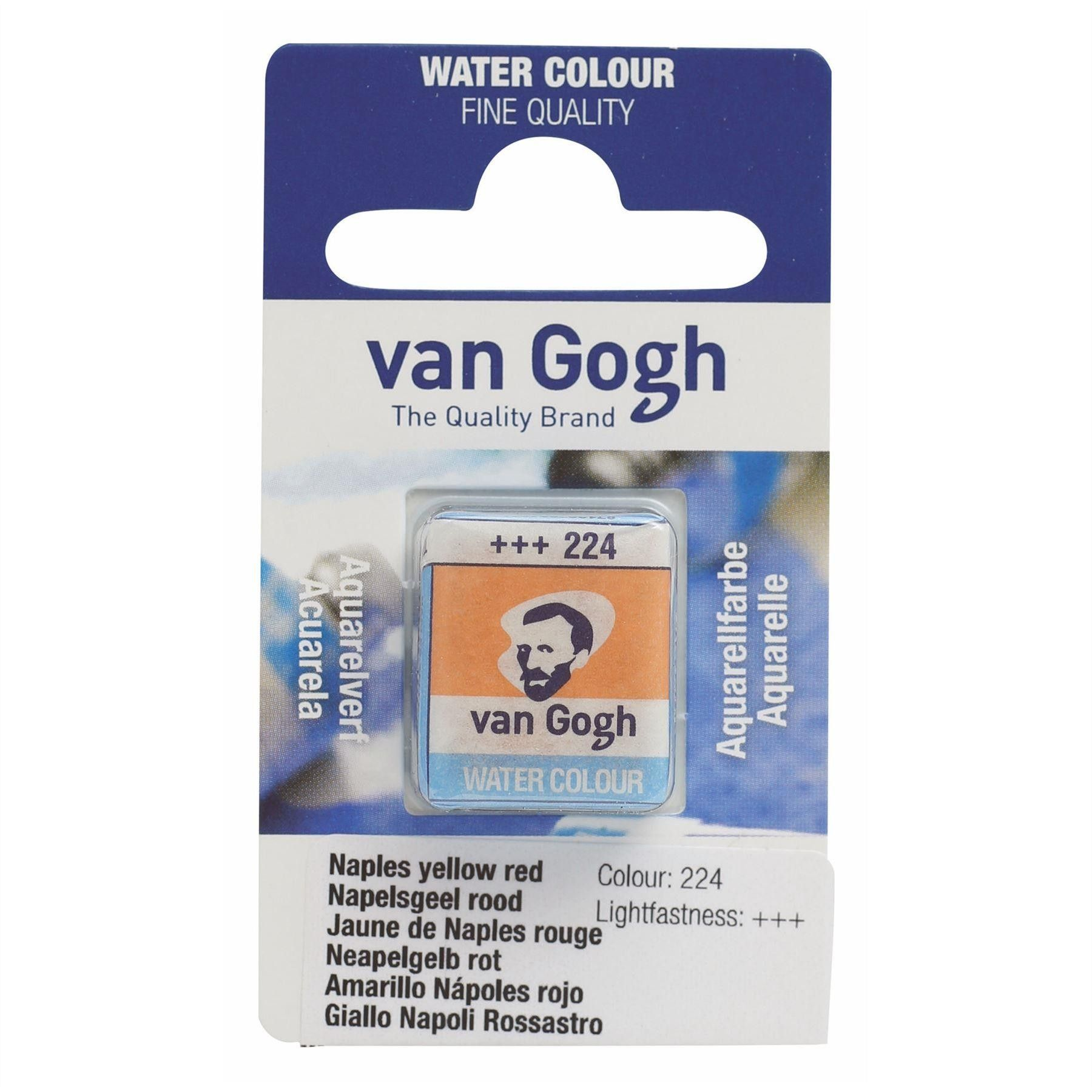 Royal Talens Van Gogh Watercolour Paint Pan Single Van Gogh