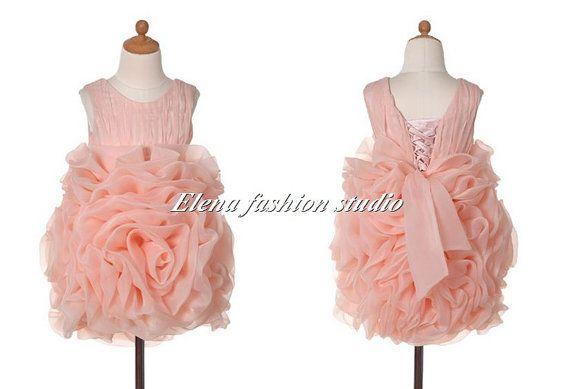 Flower girls dress Bridesmaid dress lovely princess dress birthday party dress on Etsy, $99.00