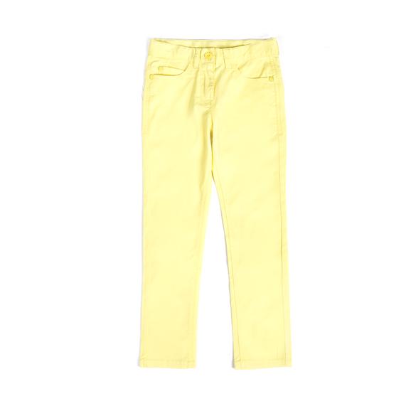 Spodnie Kolor Zolty Dluga Nogawka Fason Slim Kieszenie Z Tylu Kieszenie Z Przodu Guma W Pasie Rozporek Tkanina Clothes Girl Outfits Pants