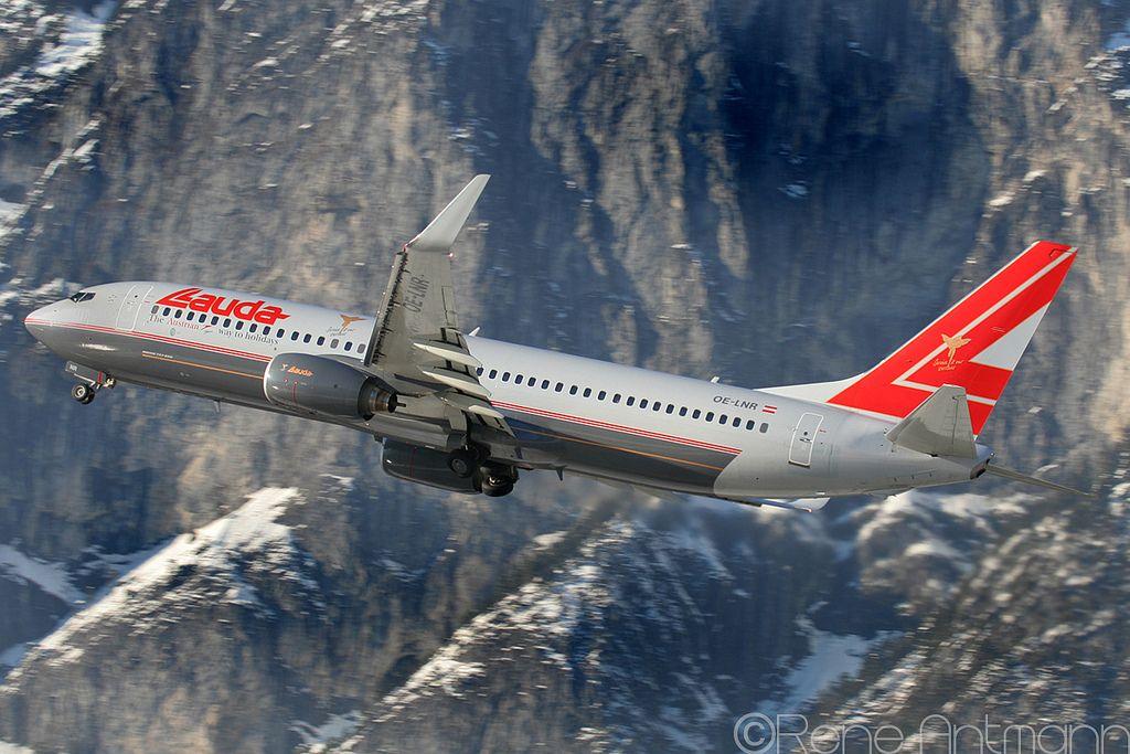 Lauda Air | Boeing 737 | OR-LNR | Innsbruck | LOWI | INN