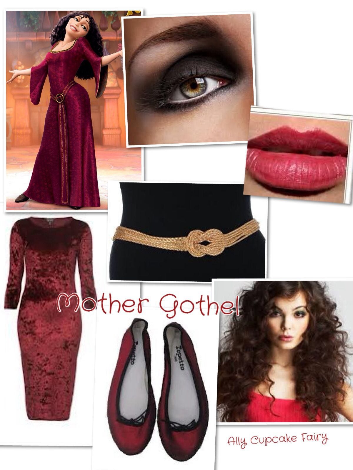 Mother Gothel ❤️ Disney Inspired Outfits by Me