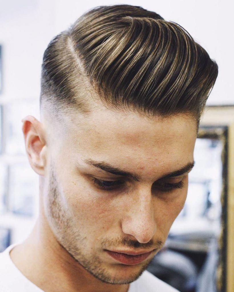 Ppreshaw Slick Side Part Hairstyle For Men Topmenshaircuts Top