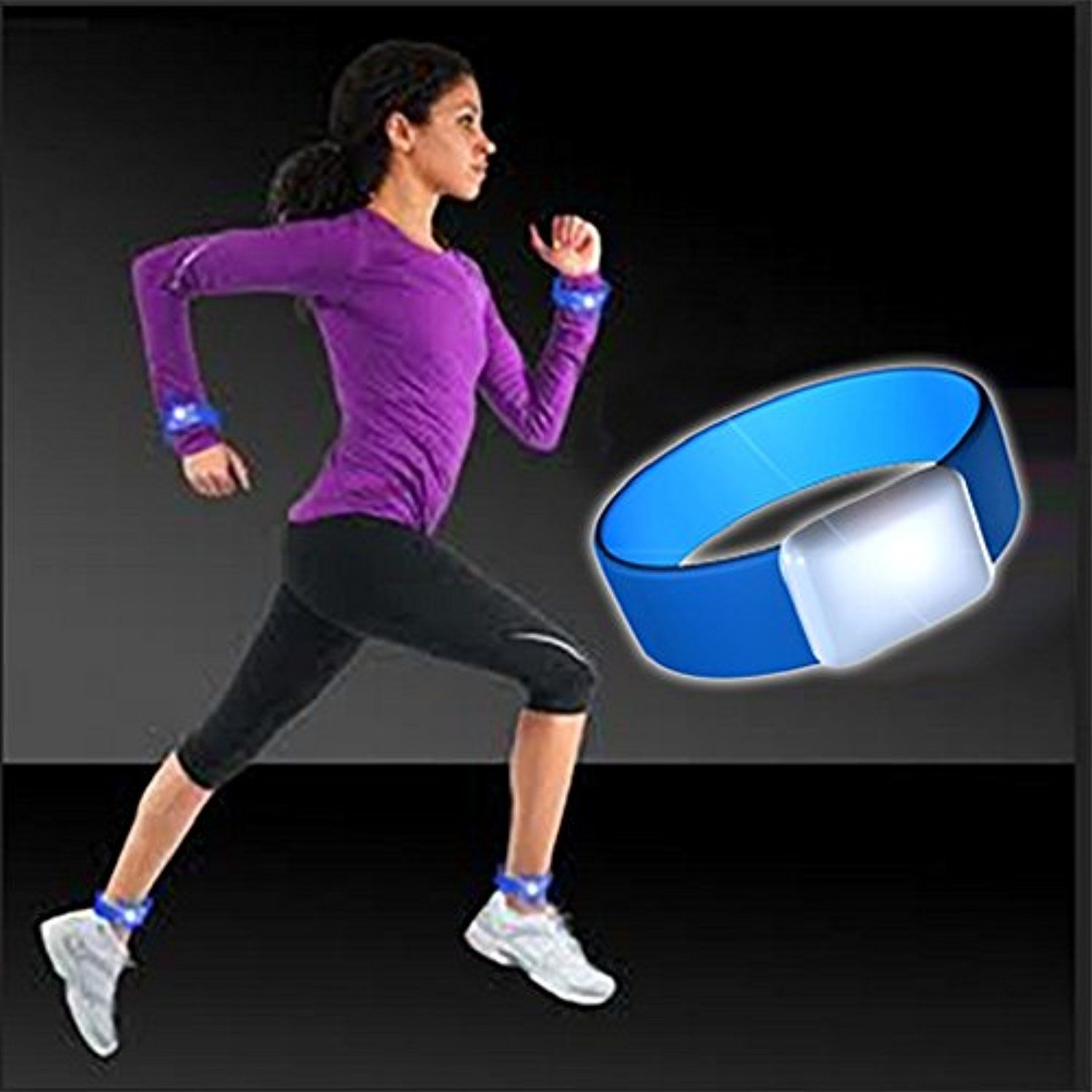 Safety Light Armband. High Quality LED Armband Running