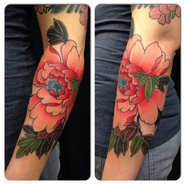 Japanese Style Beautiful Flower Tattoos By Rodrigo Souto Tattoos