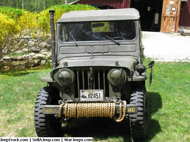 1951 M38 Jeep by Kaiser Willy's rebuilt in 2008. New