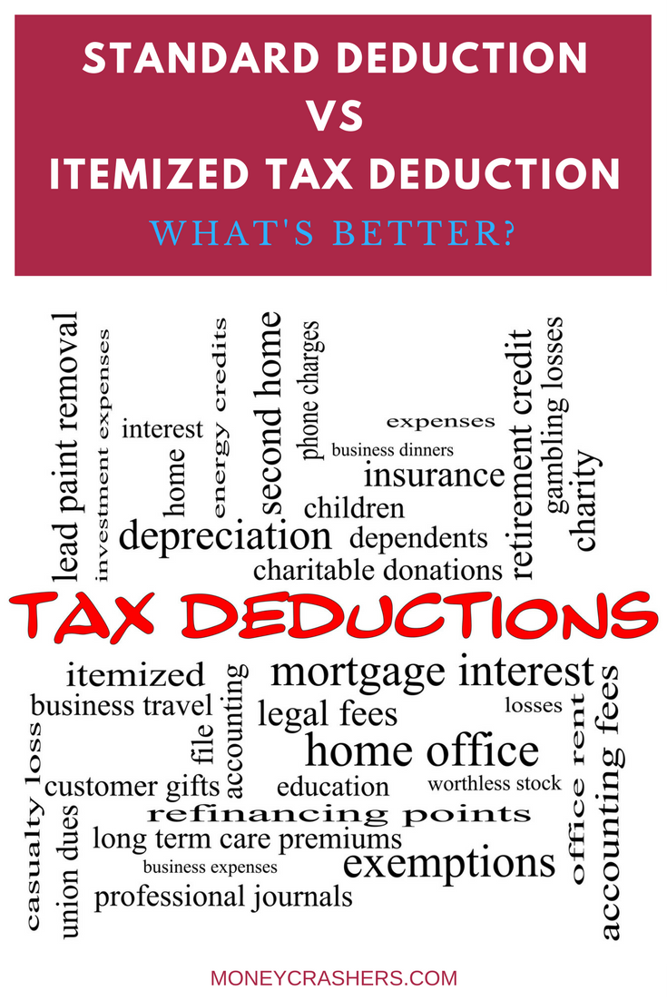 Standard Deduction Vs Itemized Tax Deduction What S Better