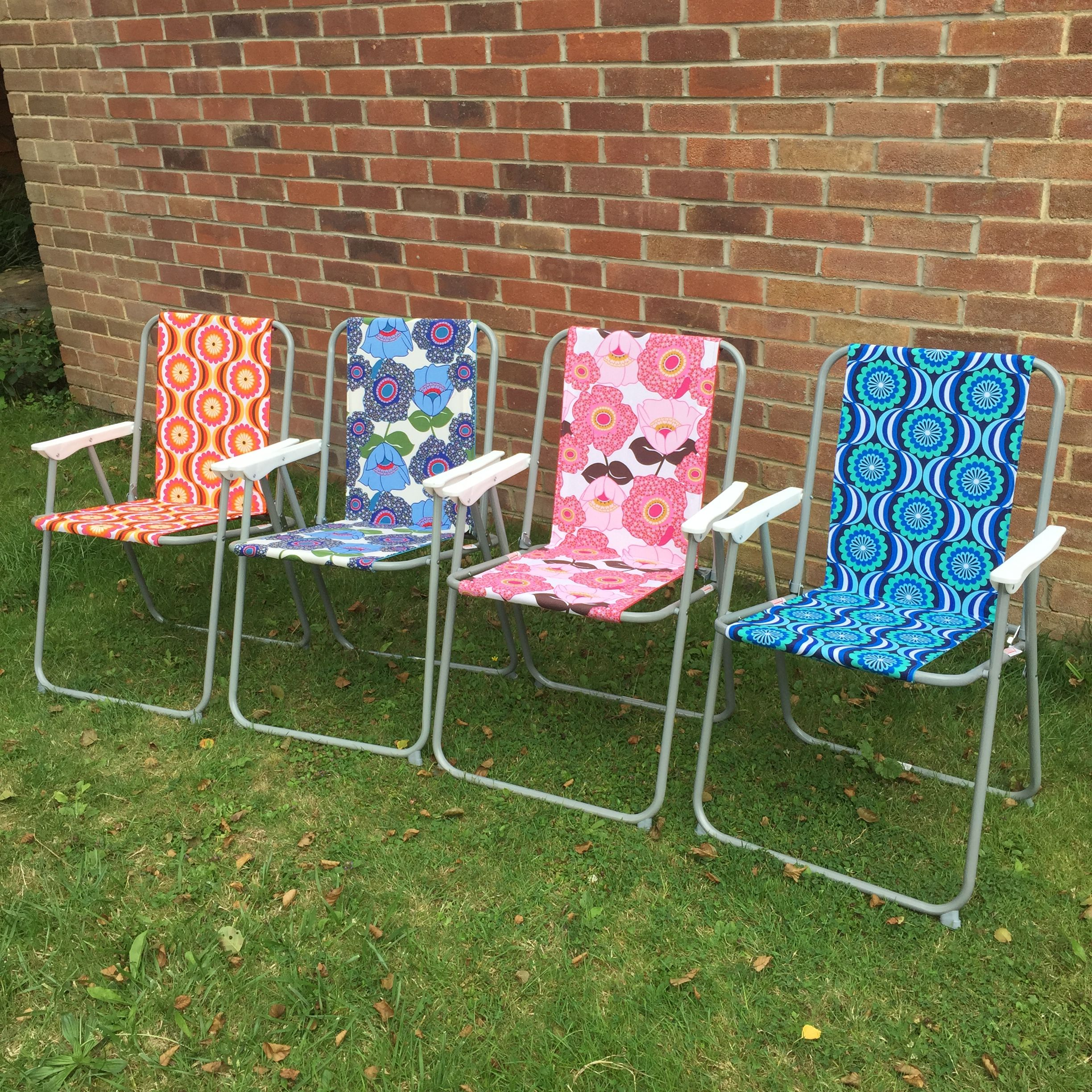 New! Made to order retro camping chairs available from recollected