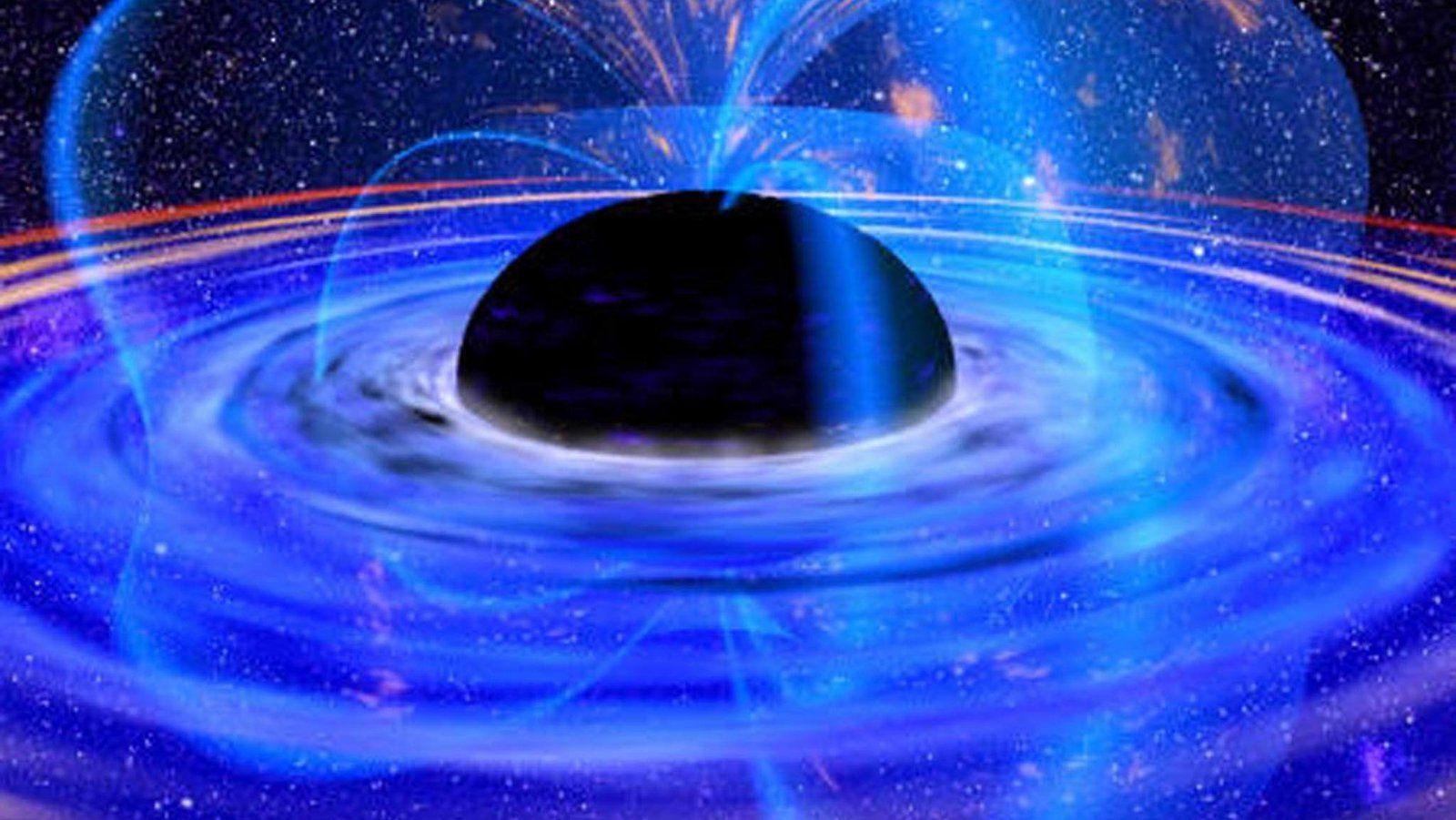 Blick Ins Herz Der Dunkelheit Schwarze Locher Die Unheimlichen Massemonster Schwarzes Loch Stephen Hawking Galaxien