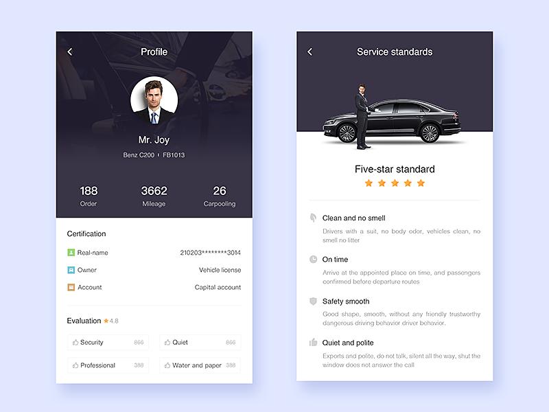 Profile practice App design, Mobile app design, Mobile app