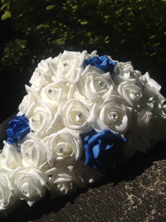 Artificial bride bouquet by ShiningBride on Etsy, $250.00